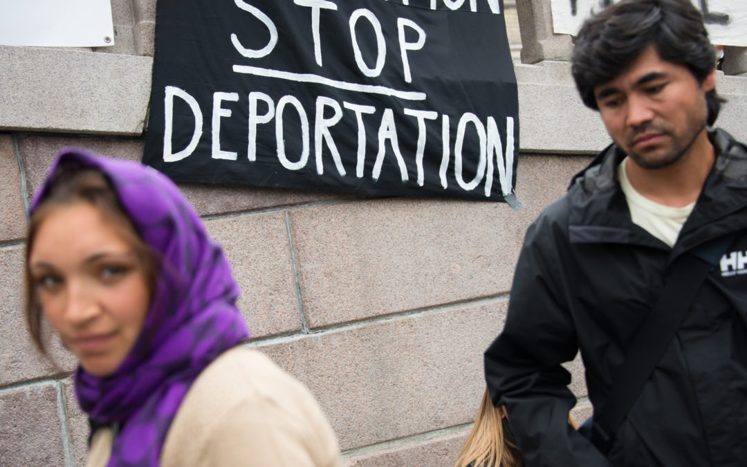 Networks Offer Aid To Migrants Amidst Deportation Talk