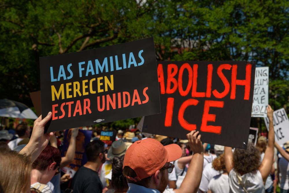 Detainees- Activists Rally Demanding ICE Release Detainees - e-immigrate- news